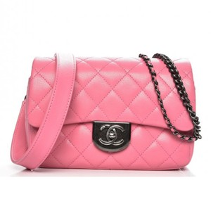 Chanel Flap Goatskin Quilted Shoulder Bag