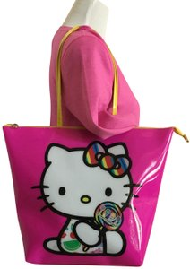 Hello Kitty Tote in Vibrant Pink