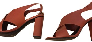 Charles & Keith orange Pumps