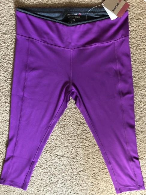 Reebok Pretty Plum Workout Pants