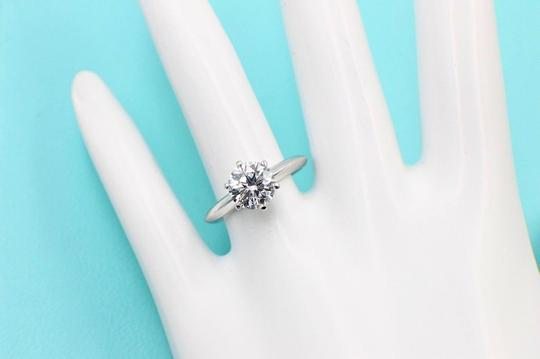 Tiffany & Co. D Diamond Round 1.39cts Dvs1 Plat Papers Engagement Ring