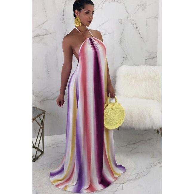 Multicolor Maxi Dress by Must Have Shoes and More