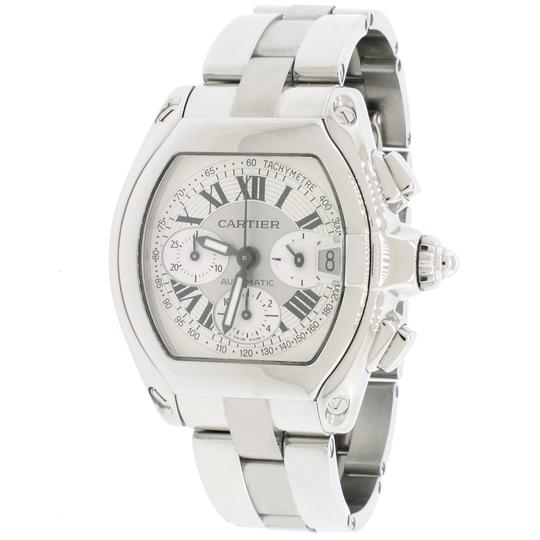 Preload https://img-static.tradesy.com/item/23926387/cartier-silver-roadster-chronograph-dial-mens-w62019x6-watch-0-1-540-540.jpg