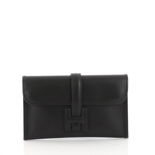 Preload https://img-static.tradesy.com/item/23926397/hermes-jige-chamonix-mini-black-leather-clutch-0-0-540-540.jpg