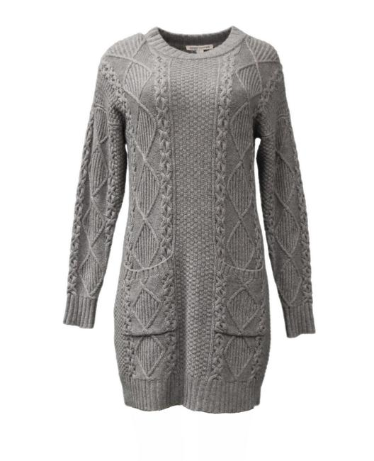 Preload https://img-static.tradesy.com/item/23926400/autumn-cashmere-nickel-grey-fisherman-cable-sweater-short-casual-dress-size-6-s-0-0-650-650.jpg