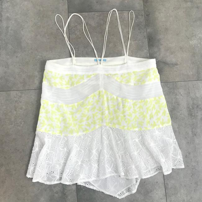 Anthropologie Liefnotes Bird Lace Top yellow