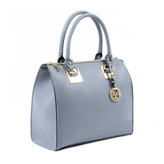 Versace 19.69 B2b-7850 Light Grey Satchel