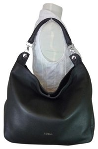 Furla Leather Tote Shoulder Hobo Bag
