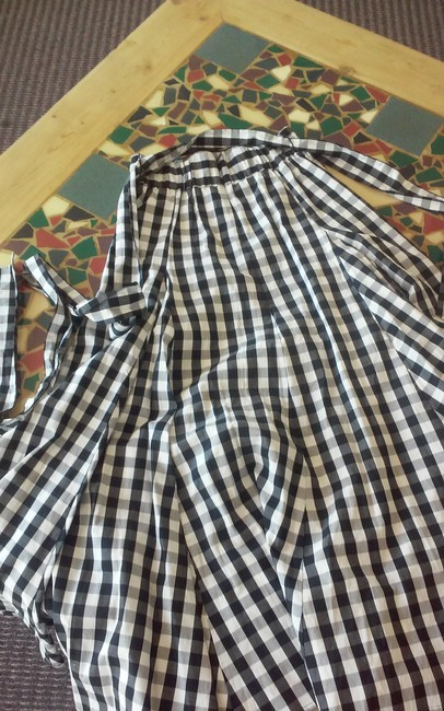Who What Wear x Target Skirt Black and white