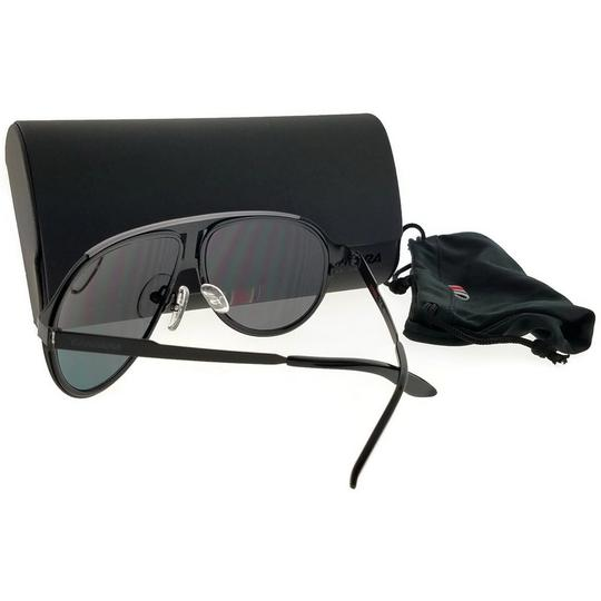 Carrera 100S-0HKQ-59 Aviator Men's Black Frame Grey Lens Genuine Sunglasses