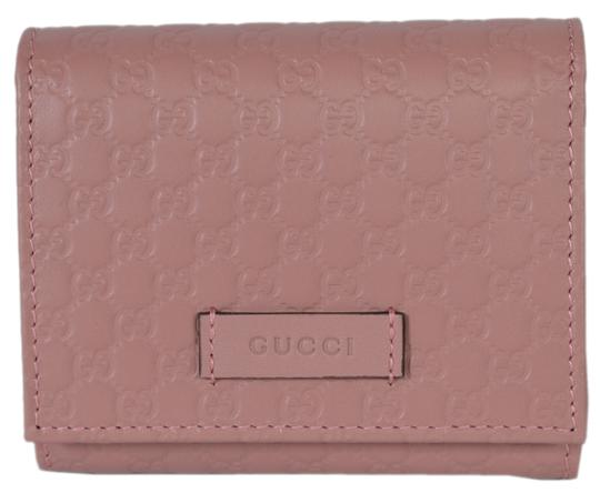 Preload https://img-static.tradesy.com/item/23926652/gucci-pink-new-510317-leather-micro-gg-guccissima-small-french-wallet-0-0-540-540.jpg