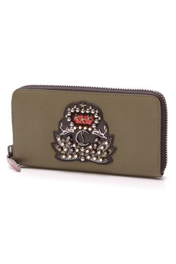 Preload https://img-static.tradesy.com/item/23926666/christian-louboutin-olive-green-panettone-wallet-0-0-540-540.jpg