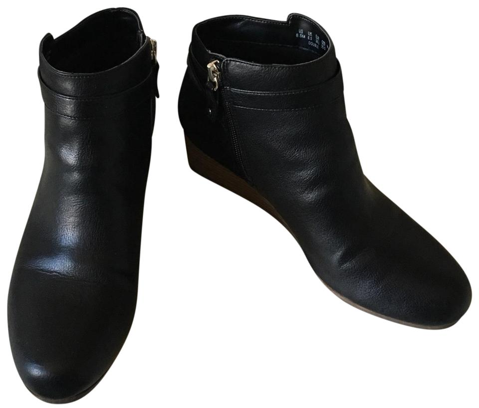 862a046dc76 Dr. Scholl s Black Double Boots Booties Size US 8.5 Regular (M