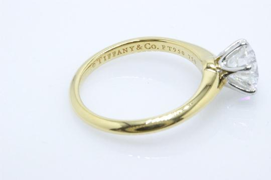 Tiffany & Co. G Diamond Round 1.52cts Si1 18k Yellow Gold Engagement Ring