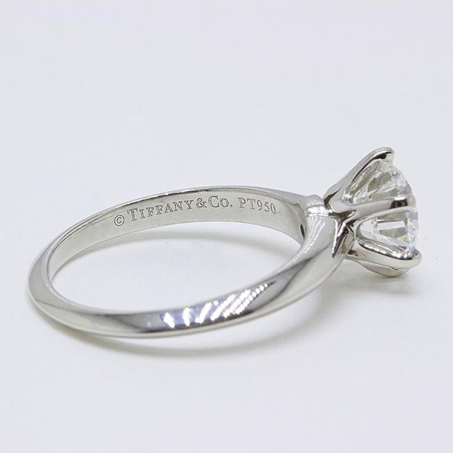 Tiffany & Co. G Vvs1 Round Brilliant Diamond Solitaire 1.33 Cts Platinum Engagement Ring Tiffany & Co. G Vvs1 Round Brilliant Diamond Solitaire 1.33 Cts Platinum Engagement Ring Image 12