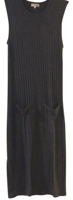 Preload https://img-static.tradesy.com/item/23926834/wilfred-gray-ribbed-sleeveless-fitted-mid-length-casual-maxi-dress-size-4-s-0-1-650-650.jpg