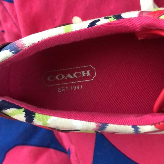 Coach white, pink, blue, green Athletic