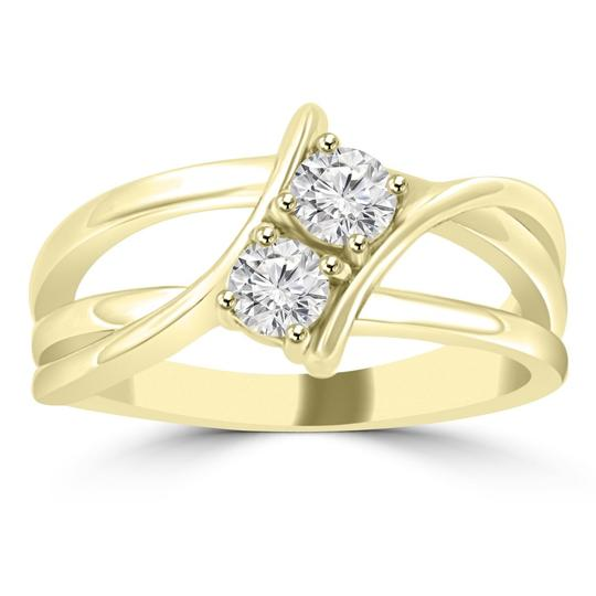 Preload https://img-static.tradesy.com/item/23927004/madina-jewelry-yellow-050-ct-ladies-round-cut-diamond-anniversary-ring-women-s-wedding-band-0-0-540-540.jpg
