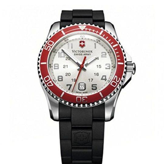 Preload https://img-static.tradesy.com/item/23927022/victorinox-silver-black-red-swiss-army-maverick-dial-watch-0-0-540-540.jpg