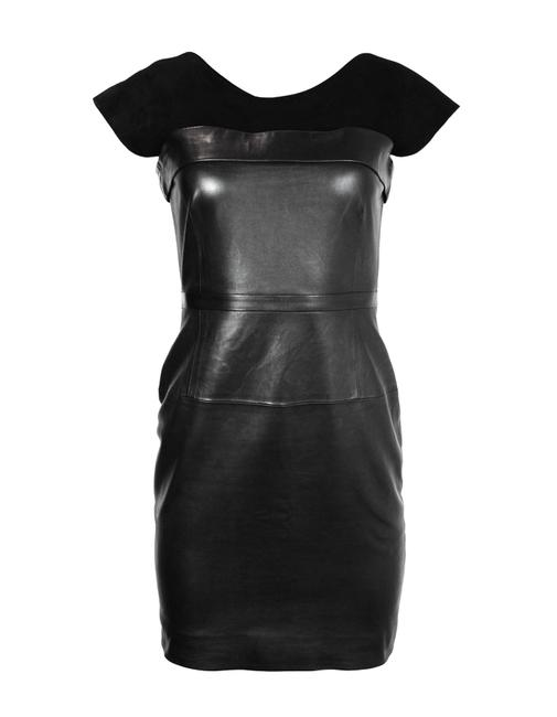 Preload https://img-static.tradesy.com/item/23927030/gucci-black-sleeveless-leather-w-suede-bodice-38-us-xs-short-night-out-dress-size-2-xs-0-0-650-650.jpg