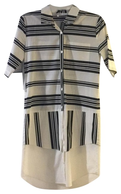 Preload https://img-static.tradesy.com/item/23927049/10-crosby-derek-lam-mixed-short-sleeve-button-down-striped-mid-length-workoffice-dress-size-4-s-0-1-650-650.jpg