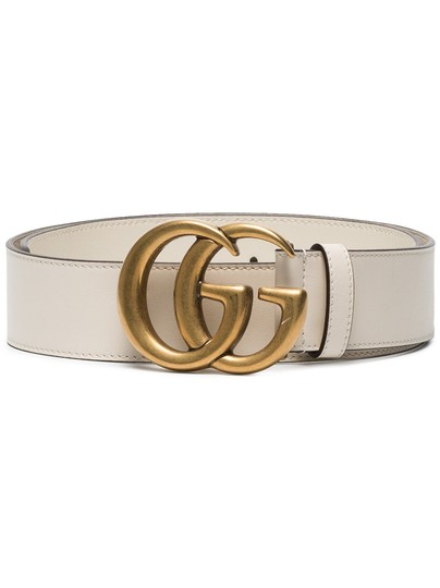 Preload https://img-static.tradesy.com/item/23927058/gucci-bianco-white-gg-logo-size-105-leather-wide-4cm-belt-0-0-540-540.jpg