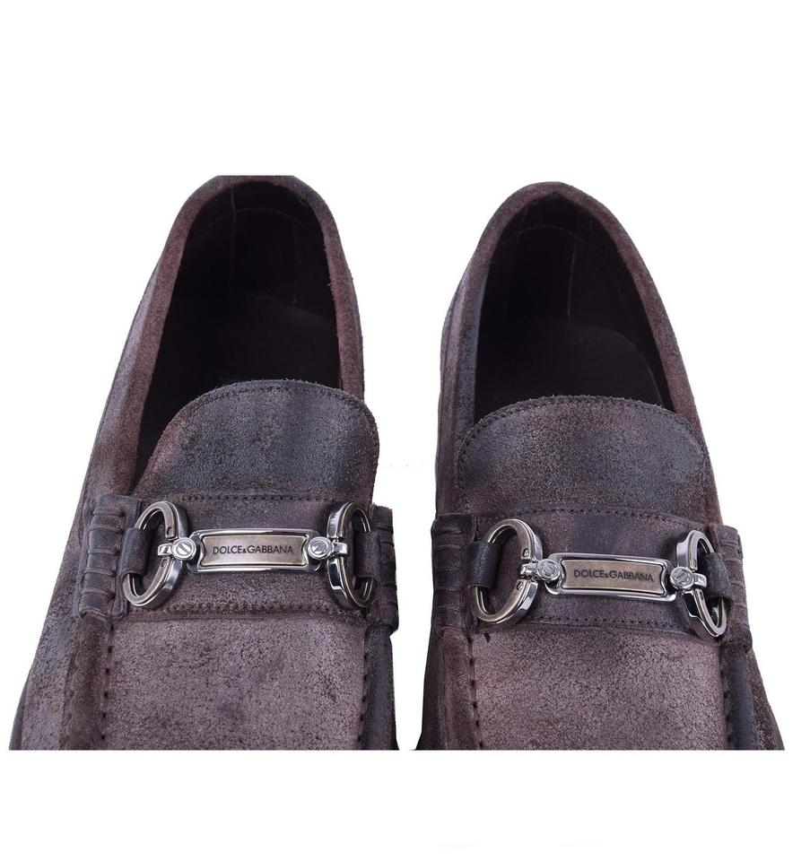 Loafer amp;Gabbana Shoes Vintage Dolce Gabbana Dolce Brown Formal Logotype Solid amp; Yx4AHp