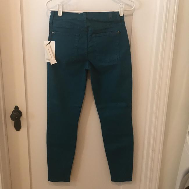 7 For All Mankind Dyed Seven Skinny Jeans