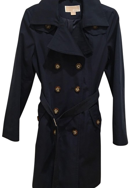 Preload https://img-static.tradesy.com/item/23927161/michael-kors-navy-coat-blazer-size-0-xs-0-1-650-650.jpg