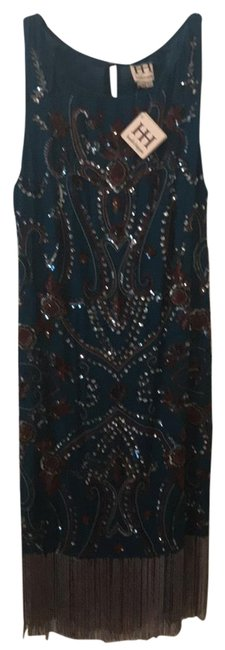 Preload https://img-static.tradesy.com/item/23927201/haute-hippie-teal-burgundy-silver-black-blue-coral-mid-length-cocktail-dress-size-10-m-0-1-650-650.jpg