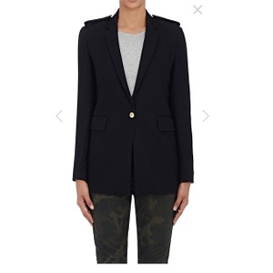 Rag & Bone Black Gold Navy Blazer