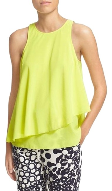 Preload https://img-static.tradesy.com/item/23927243/trina-turk-lime-yellow-nwot-kesso-tiered-silk-layered-sleeveless-halter-top-size-2-xs-0-1-650-650.jpg