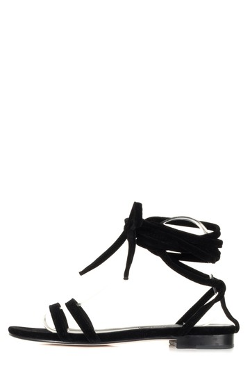 Preload https://img-static.tradesy.com/item/23927358/newbark-black-velvet-rose-sandals-size-eu-385-approx-us-85-regular-m-b-0-0-540-540.jpg