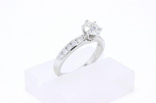 Tiffany & Co. H Diamond Round 1.46cts If Diamond Band Papers Box Engagement Ring