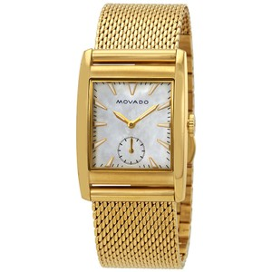 Movado Heritage White Mother of Pearl Dial Ladies Watch