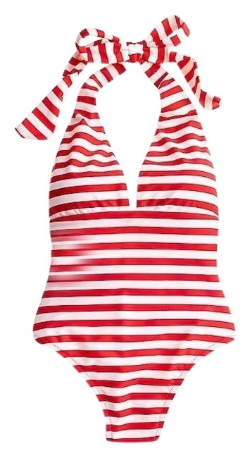 Preload https://img-static.tradesy.com/item/23927391/jcrew-red-and-white-striped-halter-plunge-front-one-piece-bathing-suit-size-6-s-0-1-650-650.jpg