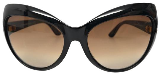 Tom Ford TOM FORD TF284 01F 59MM BLACK/BROWN GRADIENT SUNGLASSES Image 0