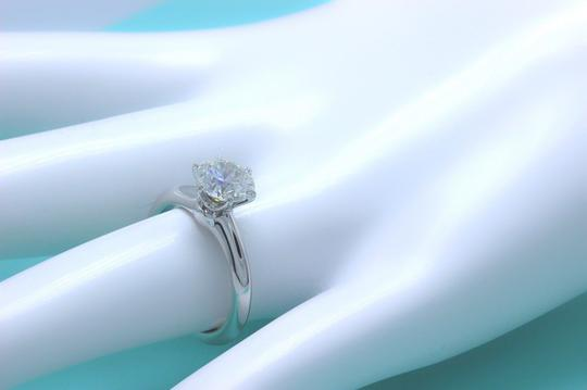 Tiffany & Co. I Vs2 Diamond Round 1.47cts Solitaire Platinum Engagement Ring
