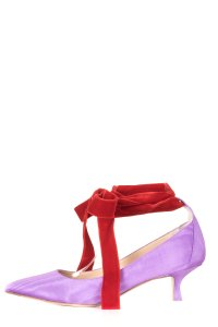 Attico purple Pumps