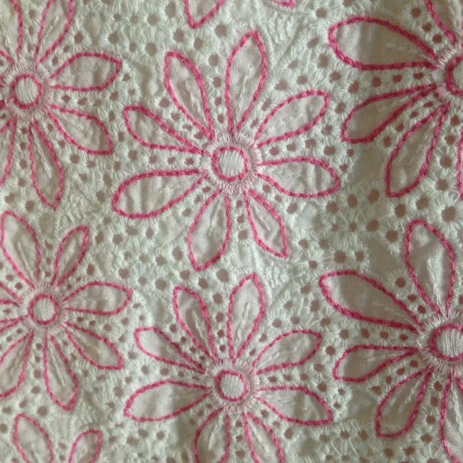 Lilly Pulitzer short dress Pink and white on Tradesy Image 1