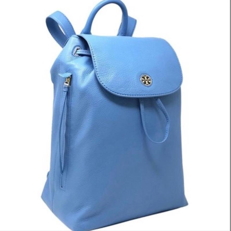 Leather Burch Tory Brody Backpack Blue wqAdXxdtv
