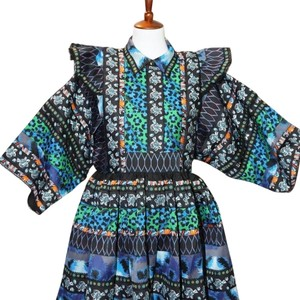 Kenzo x H&M short dress multi on Tradesy