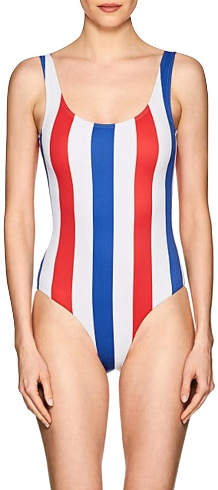 84fe9ca6ba Onia Multicolor Kelly Striped Swimsuit S One-piece Bathing Suit Size ...