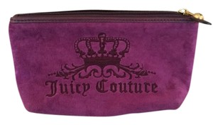 Juicy Couture Velvet Magenta Clutch