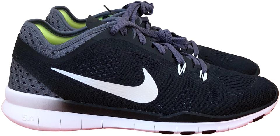Nike BlackWhiteVolt Lining Free 5.0 Tr Fit 5 Breathe Sneakers Size US 8 Regular (M, B) 59% off retail