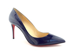 Christian Louboutin Pointed Pigalle Pigalle Follies Follies Blue Pumps