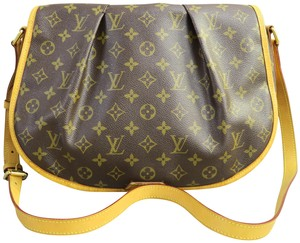 Louis Vuitton Menilmontant Mm Canvas Cross Body Bag