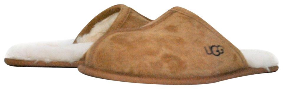 d97534e65df9 UGG Australia Chestnut Men s Scuff Slippers 5776 Boots Booties Size ...