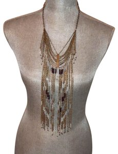 Free People Free People Beaded Chain necklace
