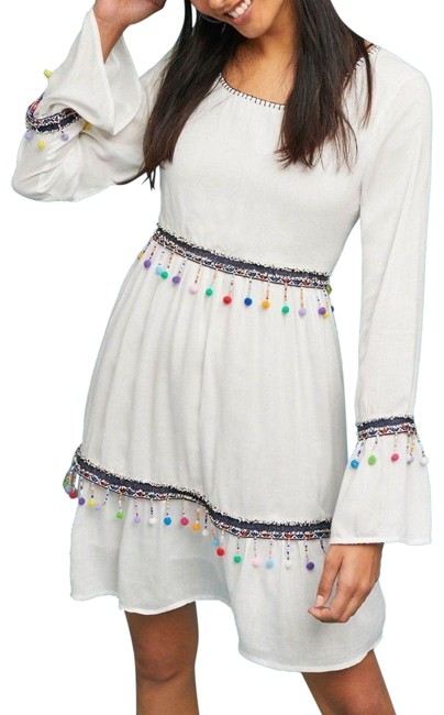 Item - Multi-color L Fresia Pommed By Raga Mid-length Night Out Dress Size 12 (L)